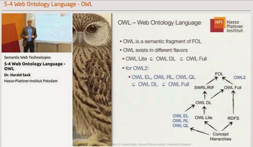 Tecnologías de la web semántica (MOOC)