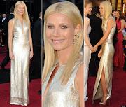 Gwyneth PaltrowElbise: Calvin Klein Takılar: Louis Vuitton