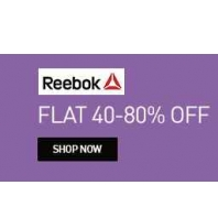 Buy Reebok Kid Footwear Flat 40% to 80% OFF : Buytoearn