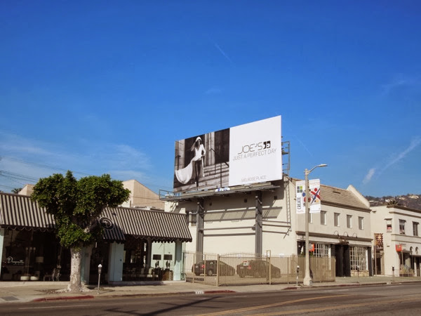 Joes Jeans Just a perfect day billboard