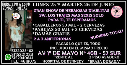 LUNES 25 Y MARTES 26 DE JUNIO DE 2 PM A 10 PM TE ESPERAMOS EN GRAN RUMBA RUMBA SW