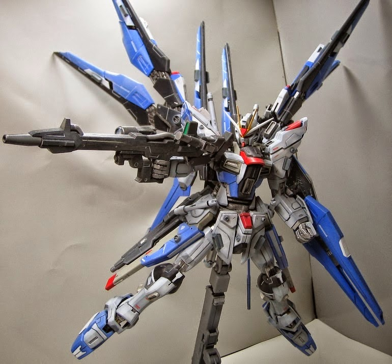 MG 1/100 ZGMF-X20A / X Strike Freedom Custom Build ...