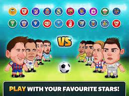 Head Soccer La Liga v1.2 MOD APK (Unlimited Gold and Cash)