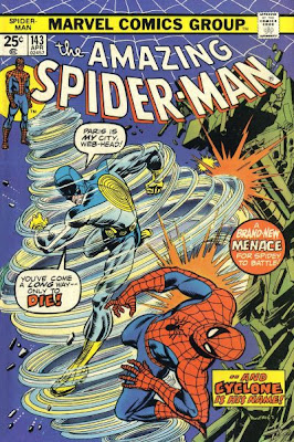 Amazing Spider-Man #143, the Cyclone
