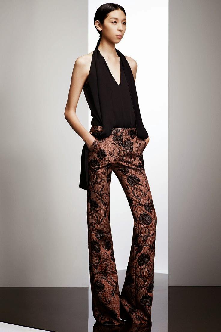 Tendências moda primavera-verão 2015 calças pantalonas