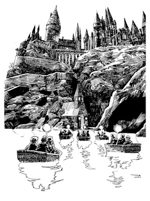 """UnReal Estate IV: The Movie"" Solo Art Show by Tim Doyle - Harry Potter"