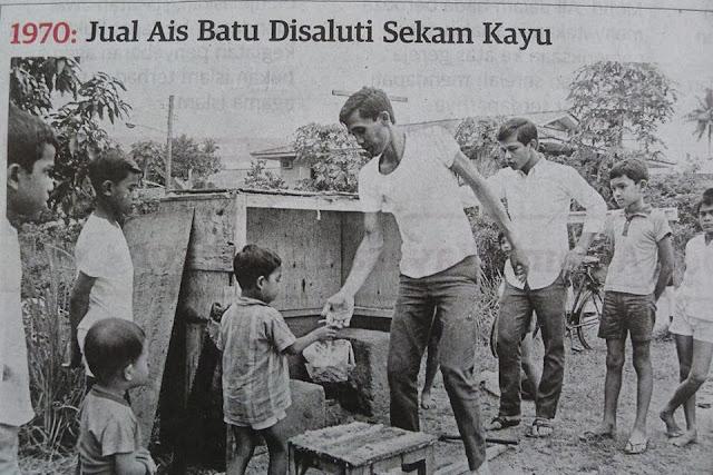 Gambar Sejarah Ais Ketul dalam sekam padi 1970 di Perlis, sejarah perlis