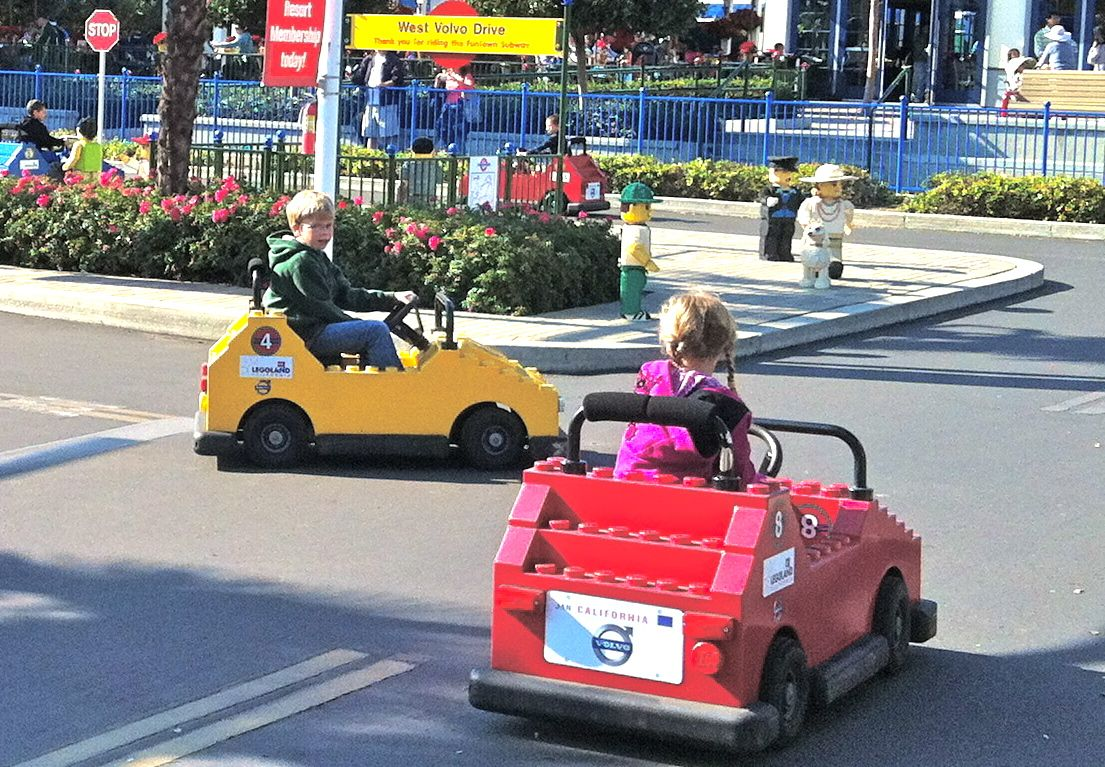 kids can learn to drive a real electric car and earn their official legoland drivers license the kids loved driving their cars all by themselves around
