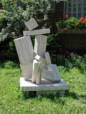 Outdoor Sculpture by Jean-Jacques Porret