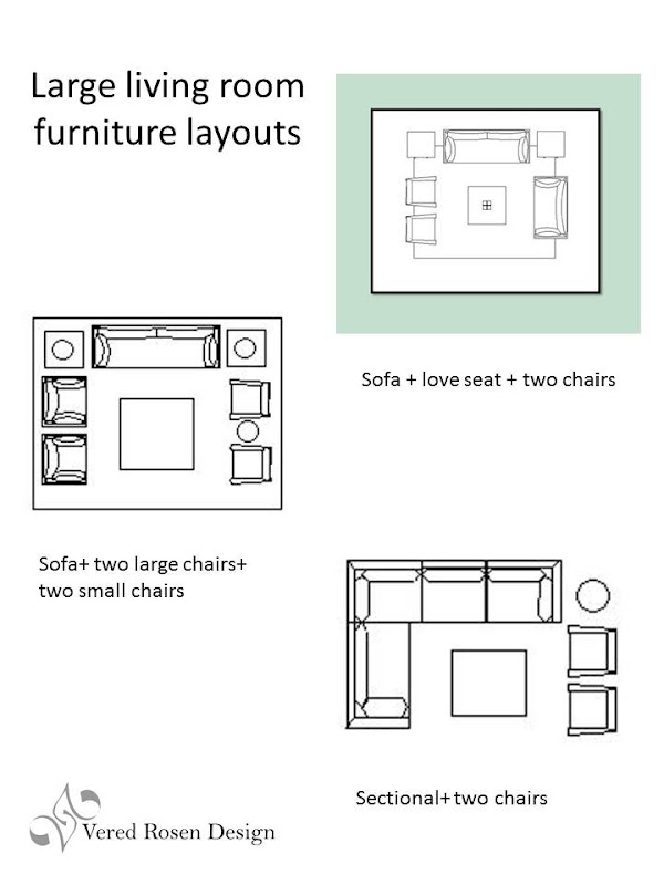 Living Room Furniture Layout Plans