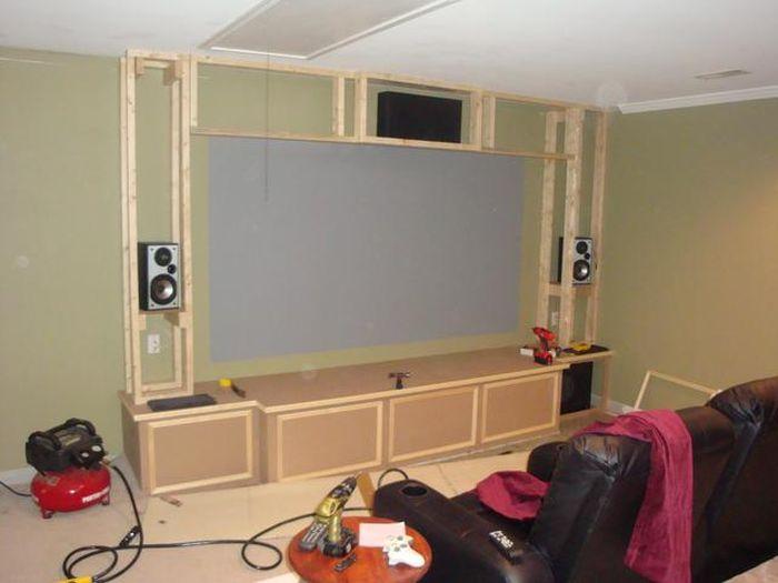 C mo crear tu propia sala de cine en casa un home for Como disenar mi propia casa