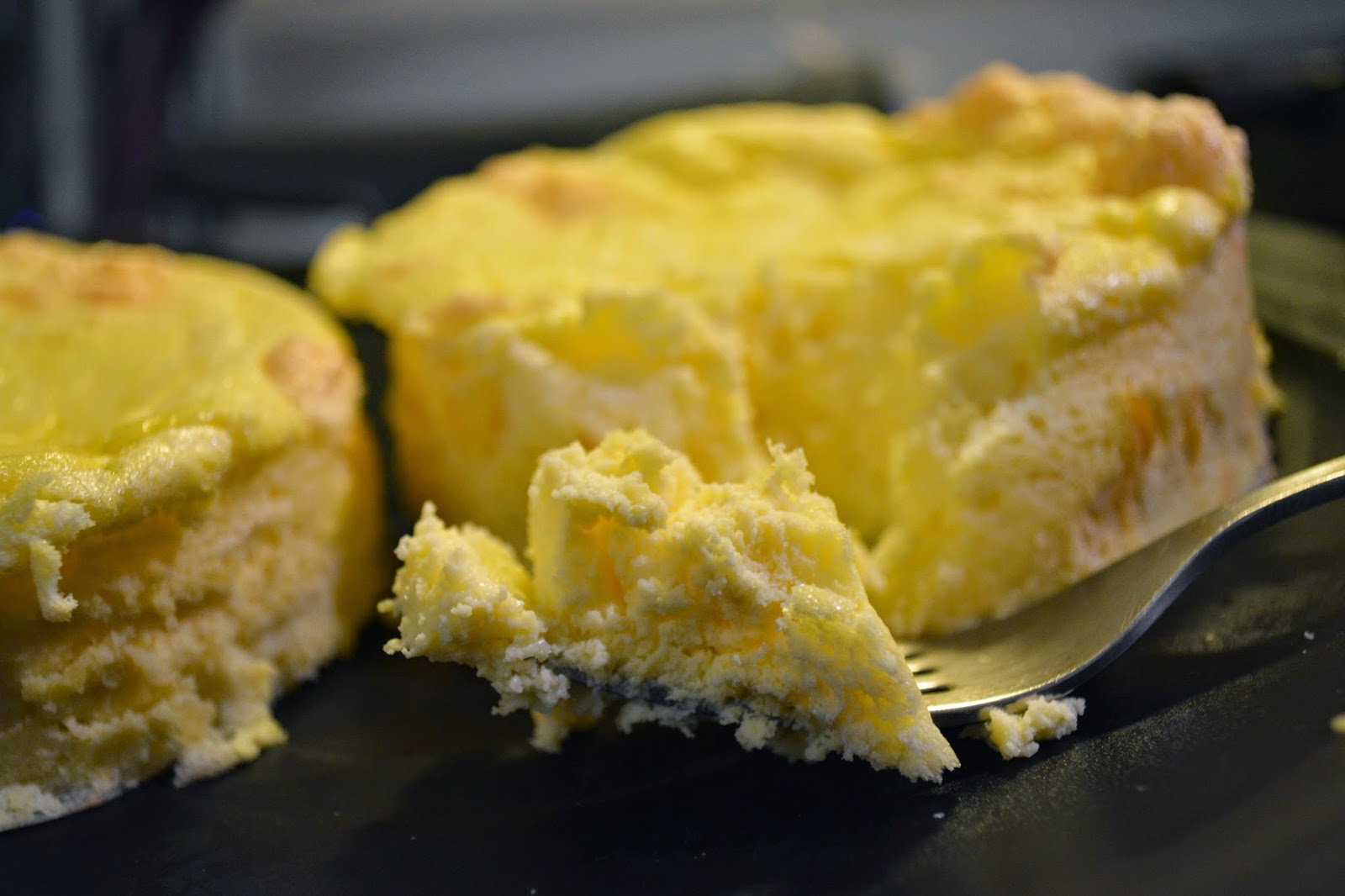 Light, delicate, healthy cheesecake from Puritan Therapy