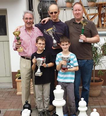 Familia de ajedrecistas de José María Gutiérrez Dopino