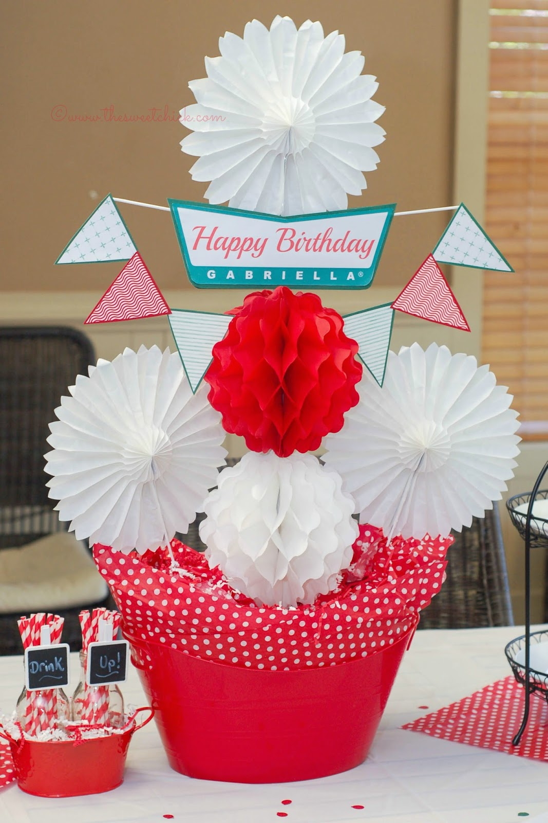 Krispy Kreme Party Centerpiece