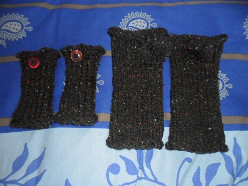 Le tricotin g ant belge comment faire des mitaines avec un tricotin g ant - Que faire avec un tricotin rond ...