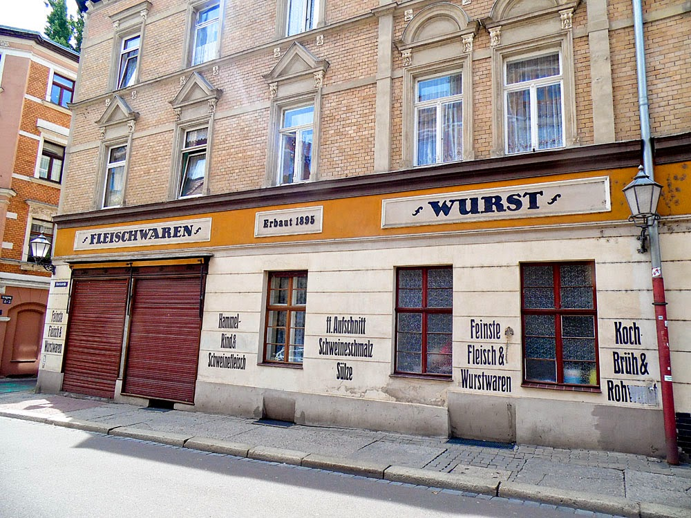 Wurstladen, Halle