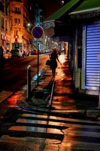 Nocturne rue Lamarck