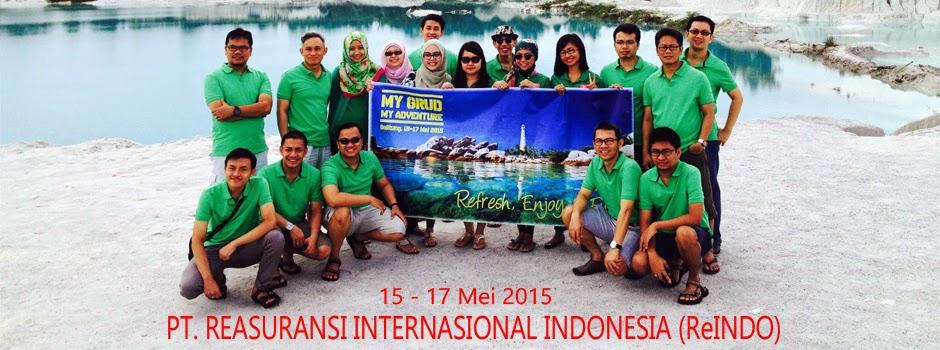 gathering company outing pulau belitung