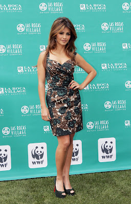 Monica Cruz at 'Be Green Be Chic' Event in Madrid, Spain