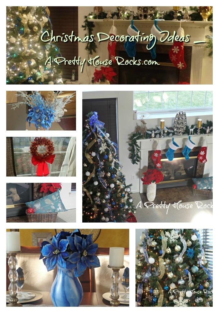 Christmas Decorating Ideas A Pretty House Rocks2