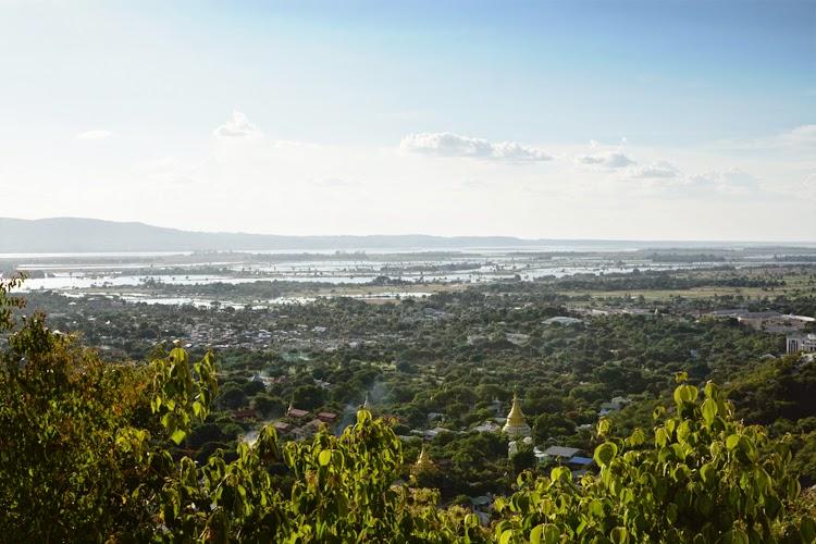 Birmanie, myanmar, voyage, photos de voyage, mandalay, colline, paysage