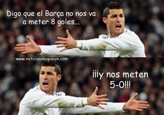 Humor: Fotos e imágenes de Cristiano Ronaldo retocadas con Photoshop. Chops