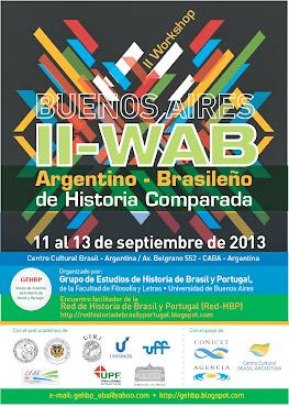 II-WAB: en Buenos Aires, entre el 11 y el 13 de septiembre de 2013