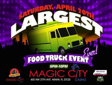 Magic City Casino Food Truck Lineup