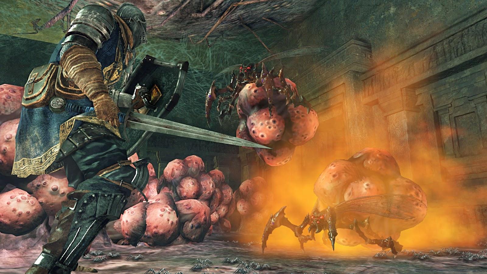 Dark Souls II Crown of the Sunken King screenshots