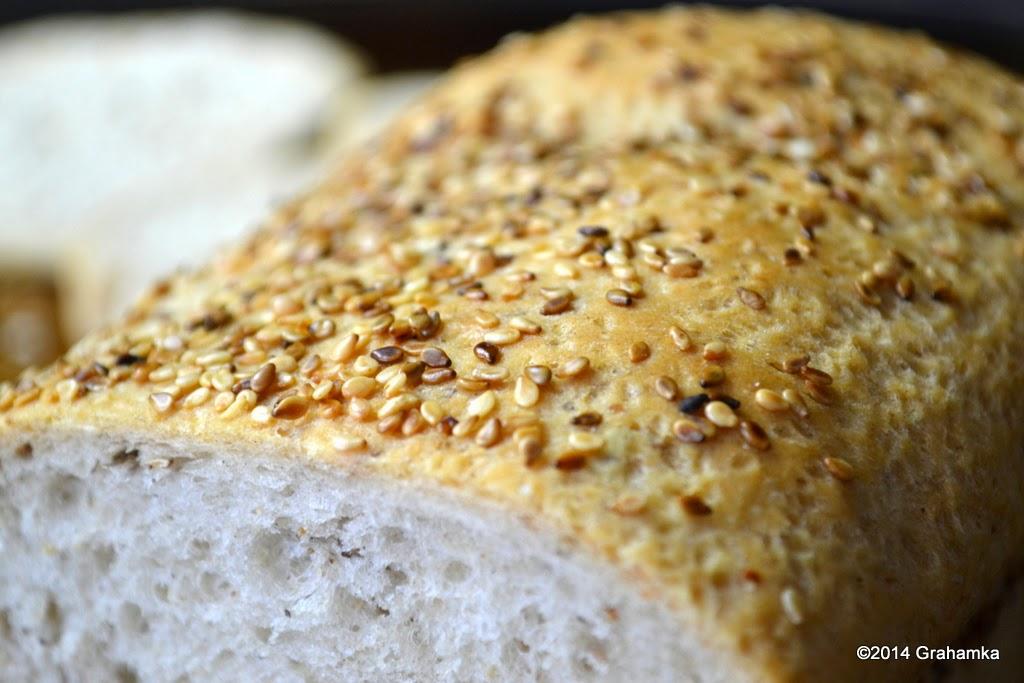 Sezam na chlebie.