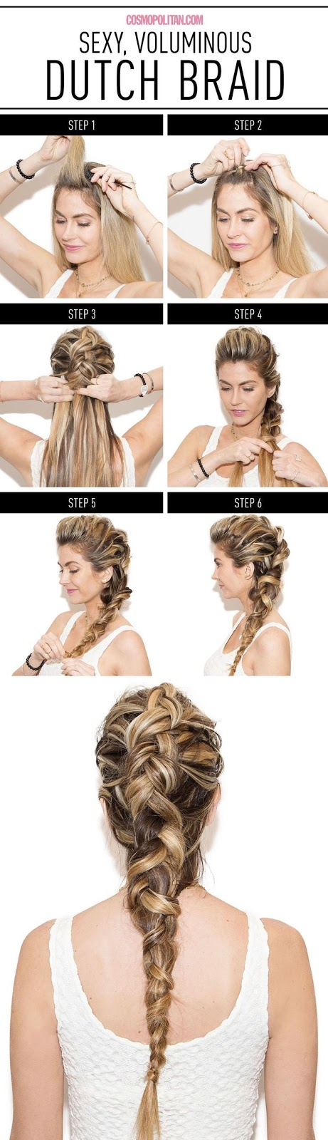 How to Make Dutch Braid in 6 Easy Steps, Khaleesi's braids on Game of Thrones