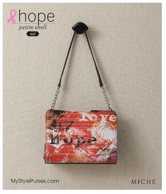 Miche Bag Hope Red Petite Shell