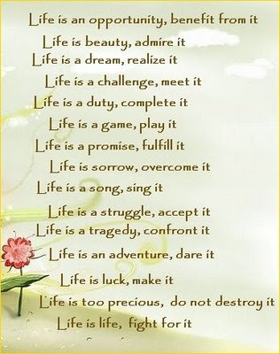 English poetry life is an opportunity benefit from it welcome to