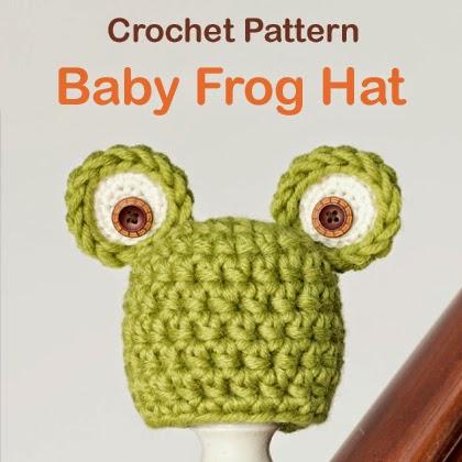 Baby Frog Hat Crochet Pattern