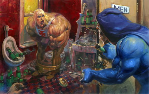 FanArt grotesco de He-Man