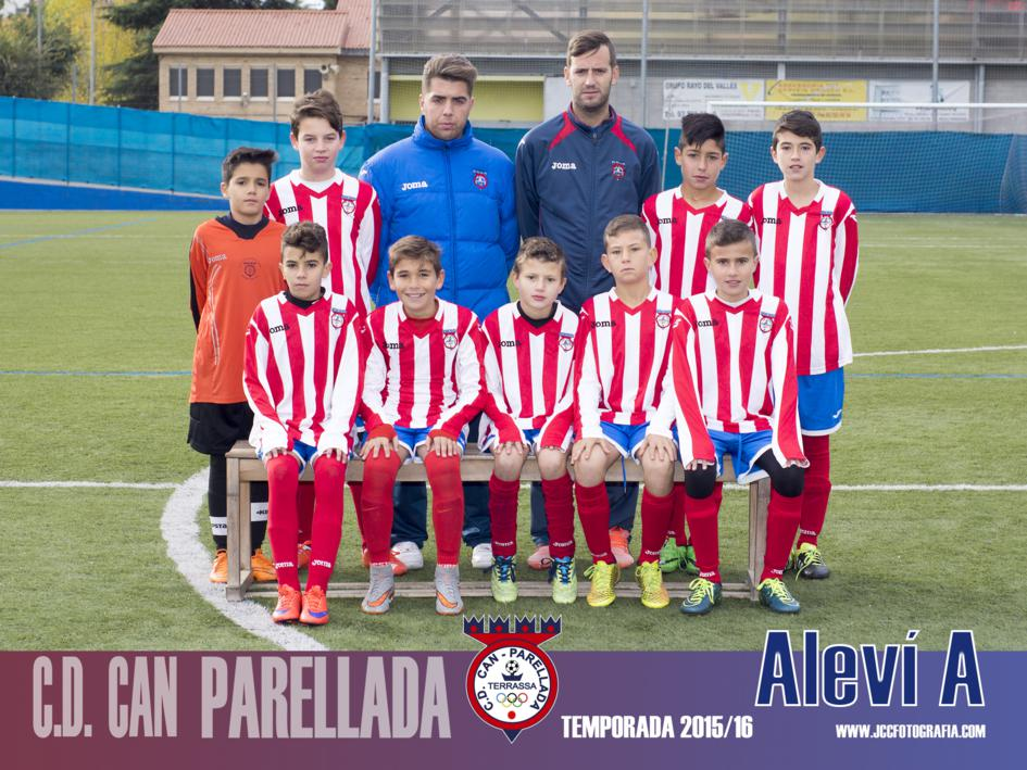 ALEVÍN A. C.D. CAN PARELLADA 2015-16