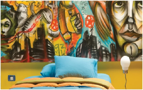 JUVENILE GRAFFITI BEDROOMS - GRAFFITI DECORATION - HIP HOP CULTURE ...