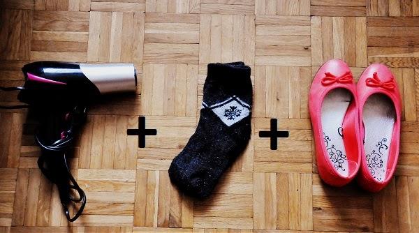 Jak rozbić/zmniejszyć buty?