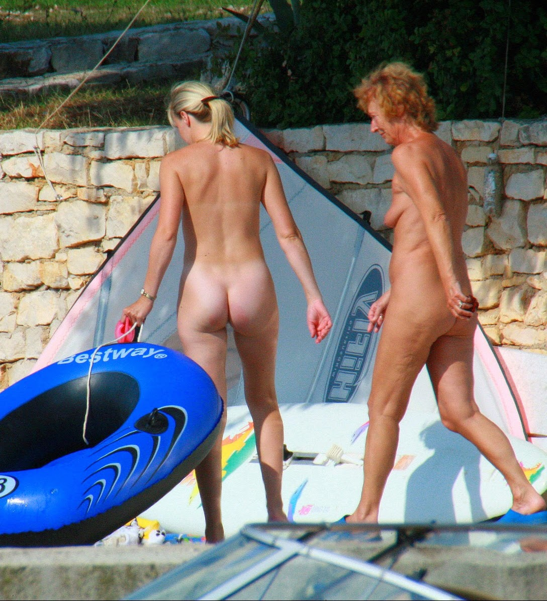 Nudist camp nude have
