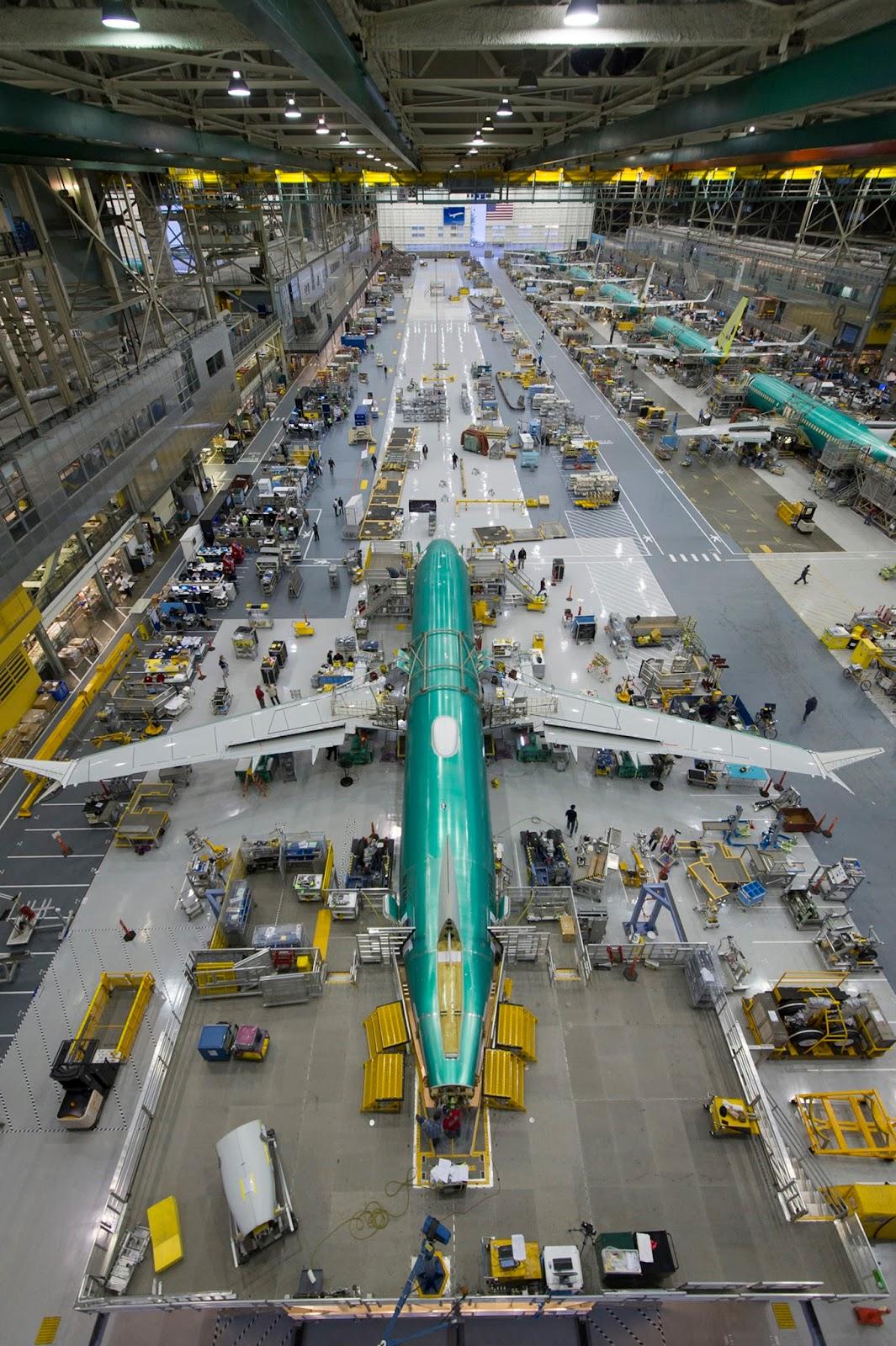 É MAIS QUE VOAR | Boeing inicia montagem final do primeiro 737 MAX