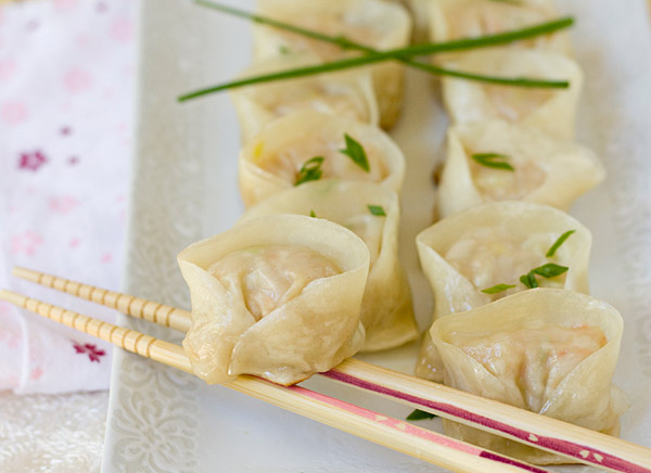 [Japanese Recipes] Steamy Shrimp Pork Dumplings