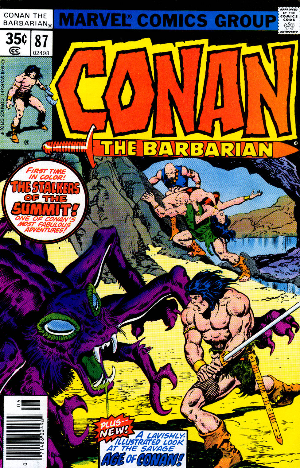 Conan the Barbarian (1970) Issue #87 #99 - English 1