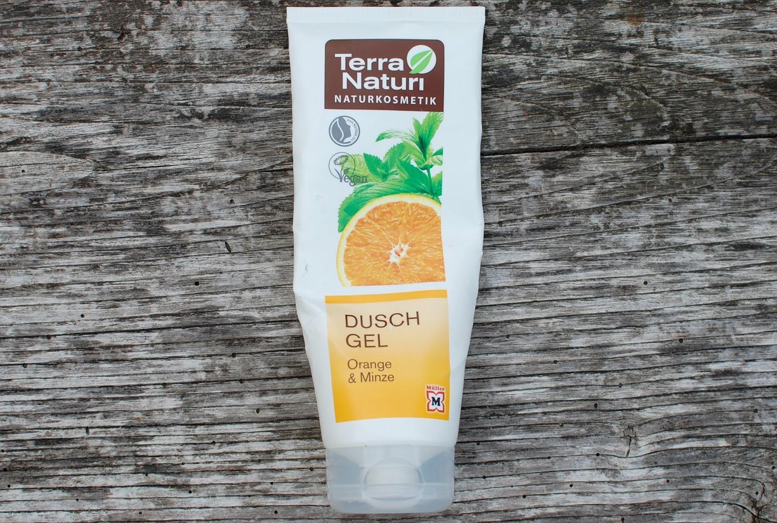Terra Naturi Gel za tuširanje Pomaranča - meta