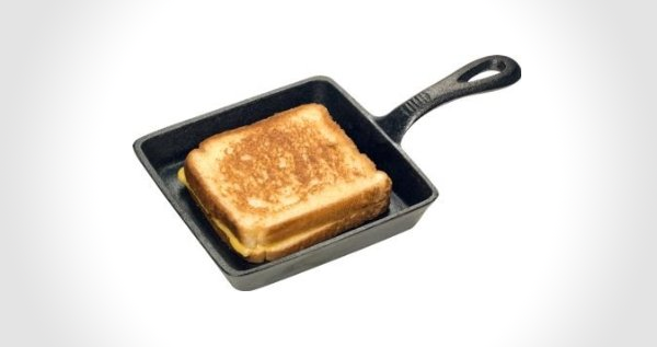 Cast Iron Sandwich Skillet
