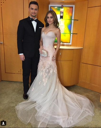kim chiu gown star magic 2015 christmas