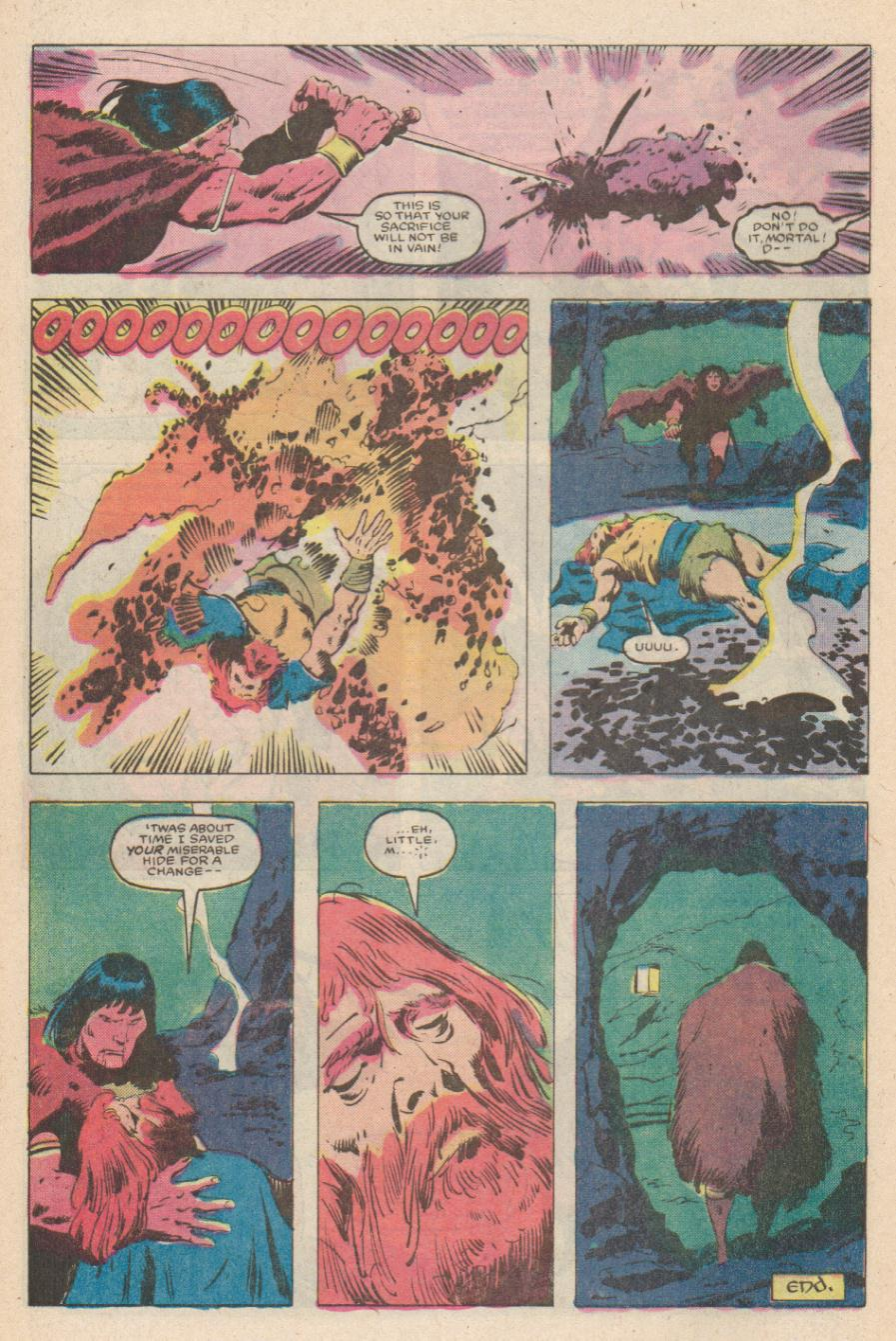 Conan the Barbarian (1970) Issue #170 #182 - English 23