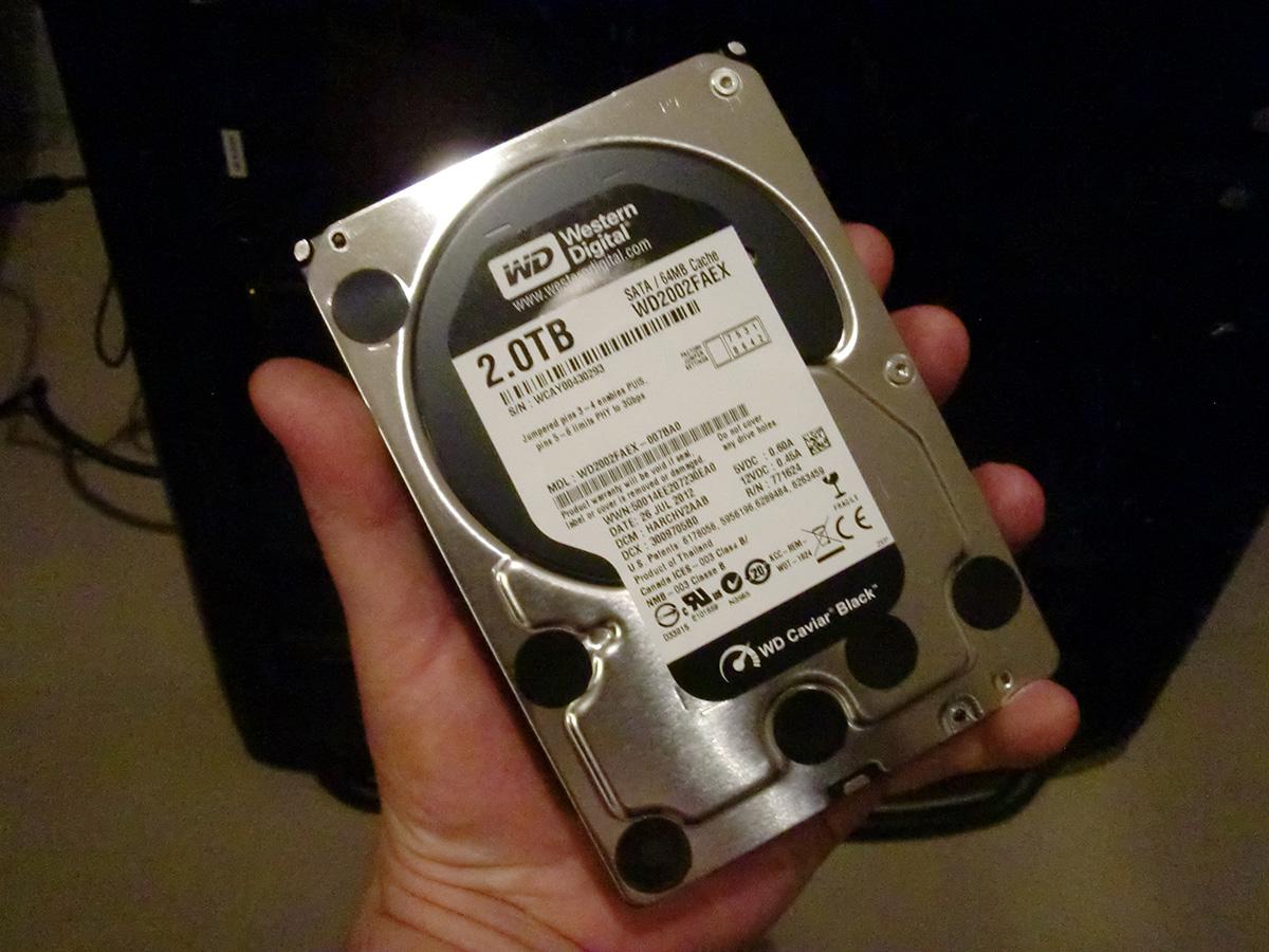 WD Black 2TB Hard Drive WD2002FAEX