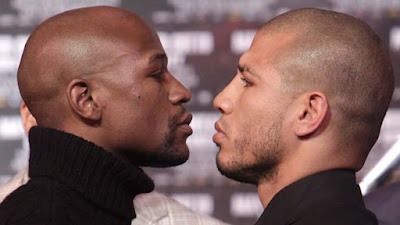 Cotto Mayweather video replay