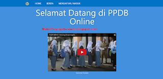 04 - Aplikasi Registrasi Penerima Bimbing Gres (Ppdb) Online Dengan Codeigniter