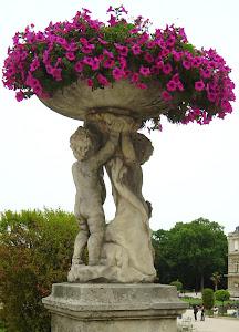 As flores lilás